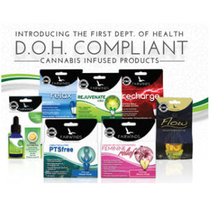 DOH Compliant cannabis infused products