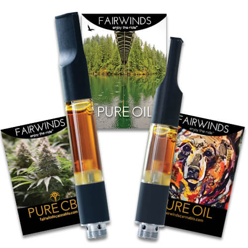 THC & CBD Vape Cartridges - Fairwinds Manufacturing