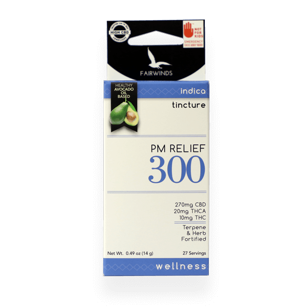 PM Relief 300 Tincture - Fairwinds Manufacturing