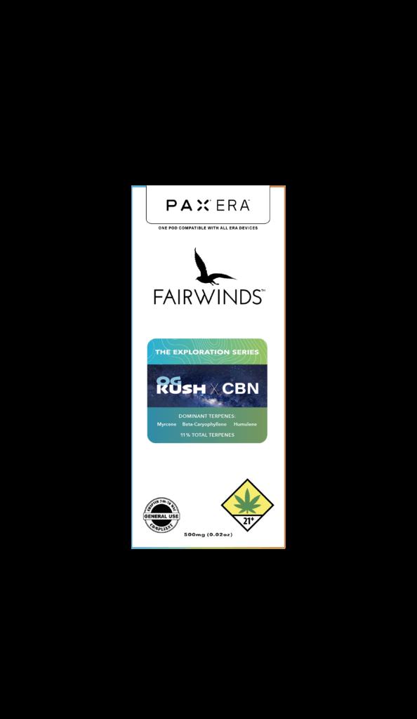 og kush fairwinds pax exploration series